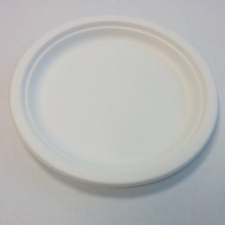 Assiette ronde pulpe Ø230mm