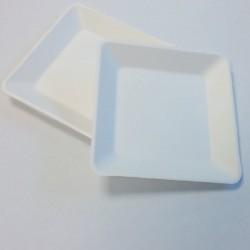 PS16 - Assiette carrée pulpe 160x160mm