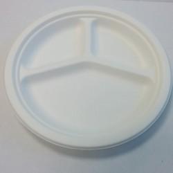 PR26T - Assiette ronde 3 composants pulpe Diamète 260mm
